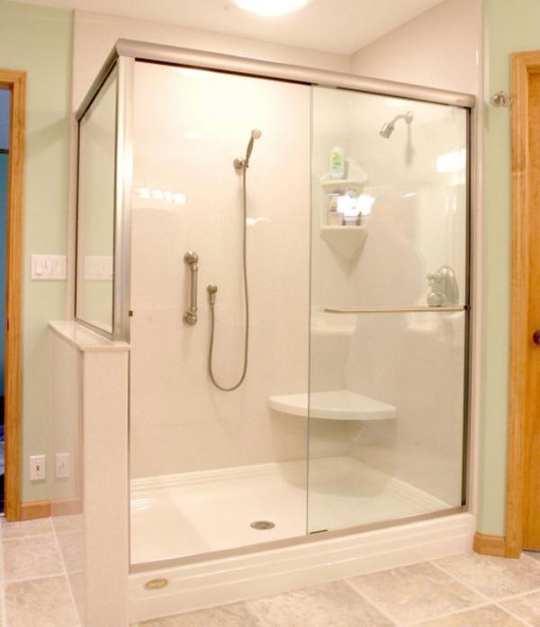 Cửa kính cường lực trượt lùa phòng tắm dẫn đầu xu hướng